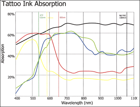 tattoo ink absorption